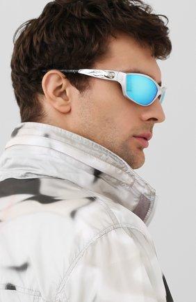 Мужские солнцезащитные очки HARLEY-DAVIDSON белого цвета, арт. HD1000 | Фото 2