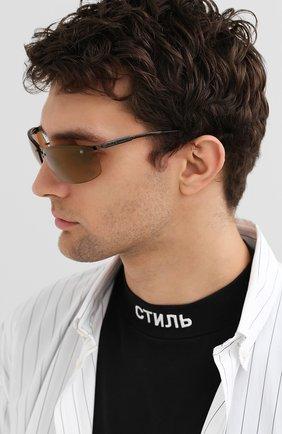 Мужские солнцезащитные очки HARLEY-DAVIDSON коричневого цвета, арт. HD700 | Фото 2