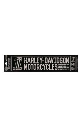 Мужская наклейка HARLEY-DAVIDSON черного цвета, арт. BS718 | Фото 1