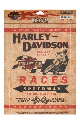 Мужская набор из двух наклеек HARLEY-DAVIDSON разноцветного цвета, арт. DC116123 | Фото 1