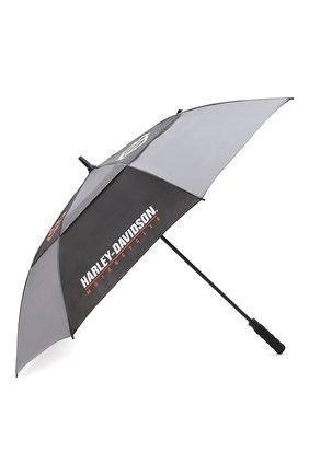 Мужской зонт-трость HARLEY-DAVIDSON синего цвета, арт. UMB516804 | Фото 2