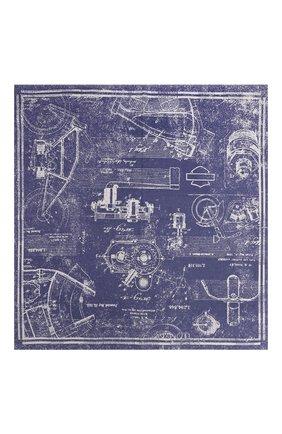 Мужского хлопковая бандана genuine motorclothes HARLEY-DAVIDSON синего цвета, арт. 97727-16VM   Фото 2