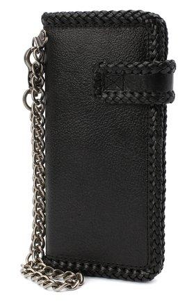 Мужской кожаное портмоне HARLEY-DAVIDSON черного цвета, арт. 97793-18VM | Фото 2