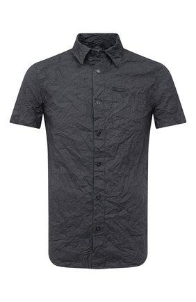 Мужская хлопковая рубашка black label HARLEY-DAVIDSON серого цвета, арт. 96648-17VM   Фото 1