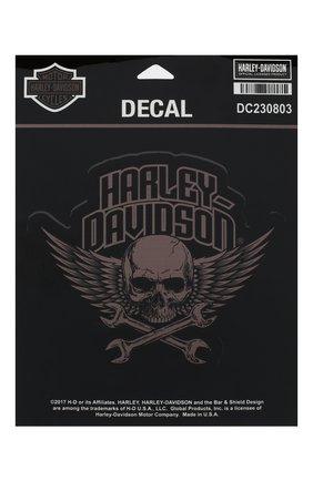 Мужская набор из двух наклеек HARLEY-DAVIDSON разноцветного цвета, арт. DC230803 | Фото 1
