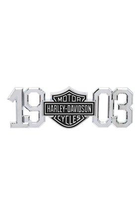Мужская наклейка HARLEY-DAVIDSON серебряного цвета, арт. DC238062 | Фото 1