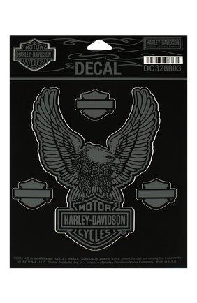Мужская наклейка HARLEY-DAVIDSON серого цвета, арт. DC328803 | Фото 1