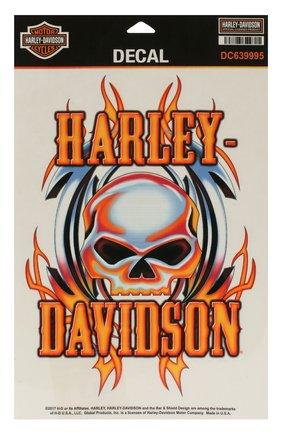 Мужская наклейка HARLEY-DAVIDSON разноцветного цвета, арт. DC639995 | Фото 1
