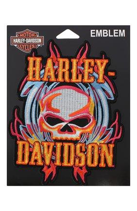 Мужская нашивка HARLEY-DAVIDSON разноцветного цвета, арт. EM639993 | Фото 1