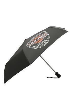 Мужской складной зонт HARLEY-DAVIDSON синего цвета, арт. UMB469301 | Фото 2