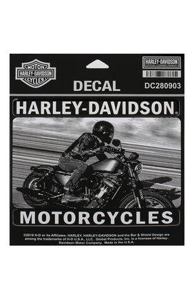 Мужская наклейка HARLEY-DAVIDSON серого цвета, арт. DC280903 | Фото 1