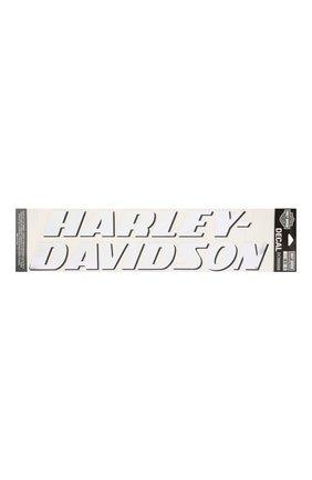 Мужская наклейка HARLEY-DAVIDSON белого цвета, арт. DC986069 | Фото 1