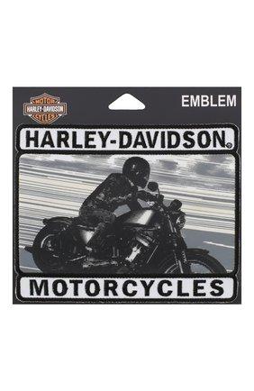 Мужская нашивка HARLEY-DAVIDSON серого цвета, арт. EM280902 | Фото 1