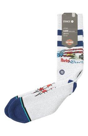 Мужские носки HARLEY-DAVIDSON серого цвета, арт. U556C19HAP | Фото 1