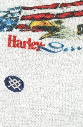 Мужские носки HARLEY-DAVIDSON серого цвета, арт. U556C19HAP | Фото 2