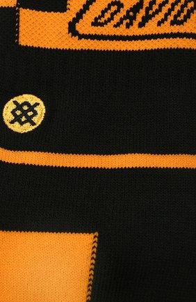 Мужские носки HARLEY-DAVIDSON черного цвета, арт. U556C19HAR | Фото 2