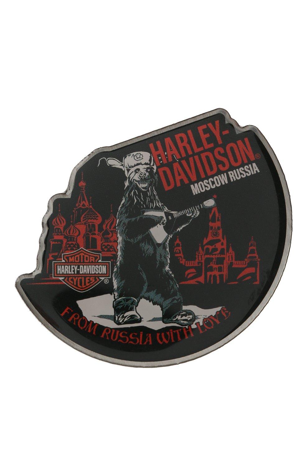 Мужская значок HARLEY-DAVIDSON разноцветного цвета, арт. PNCUS0302 | Фото 1 (Материал: Металл)