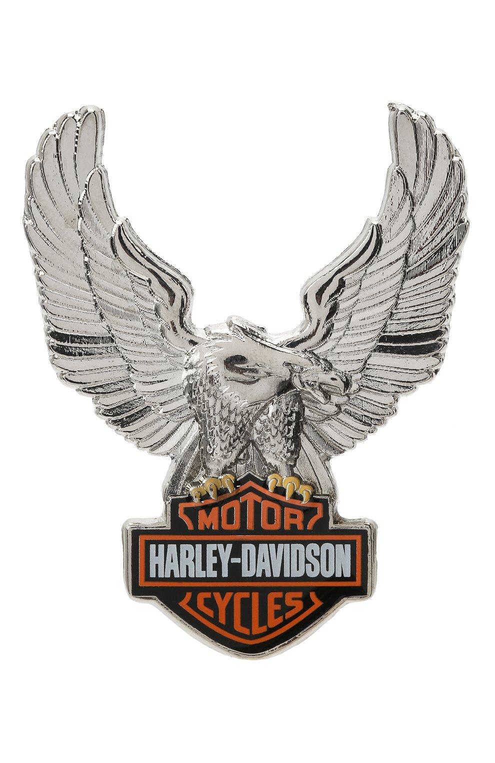 Мужская значок HARLEY-DAVIDSON разноцветного цвета, арт. P328064 | Фото 1 (Материал: Металл)