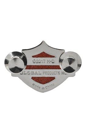 Мужская значок HARLEY-DAVIDSON серебряного цвета, арт. P1144382 | Фото 2