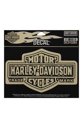 Мужская наклейка HARLEY-DAVIDSON бежевого цвета, арт. DC313263 | Фото 1