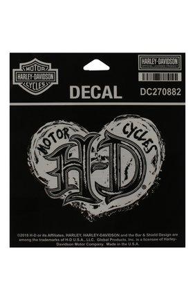Мужская наклейка HARLEY-DAVIDSON серого цвета, арт. DC270882 | Фото 1