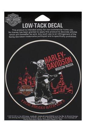 Мужская наклейка HARLEY-DAVIDSON разноцветного цвета, арт. DWCUS03 | Фото 1