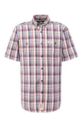 Мужская хлопковая рубашка black label HARLEY-DAVIDSON разноцветного цвета, арт. 96466-15VM   Фото 1