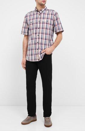 Мужская хлопковая рубашка black label HARLEY-DAVIDSON разноцветного цвета, арт. 96466-15VM   Фото 2