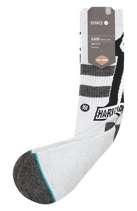Мужские хлопковые носки HARLEY-DAVIDSON серого цвета, арт. M556C17DAR | Фото 1