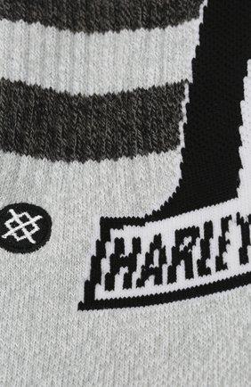 Мужские хлопковые носки HARLEY-DAVIDSON серого цвета, арт. M556C17DAR | Фото 2