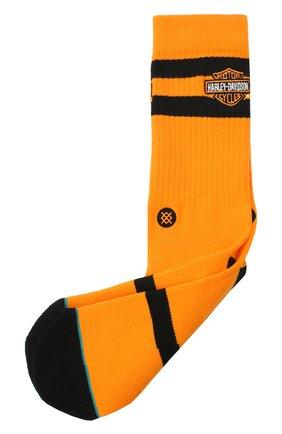 Мужские носки HARLEY-DAVIDSON оранжевого цвета, арт. U556C19HAO- L | Фото 1
