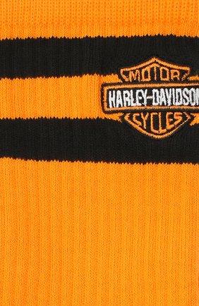 Мужские носки HARLEY-DAVIDSON оранжевого цвета, арт. U556C19HAO- L | Фото 2