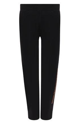 Мужские брюки genuine motorclothes HARLEY-DAVIDSON черного цвета, арт. 96390-20VM | Фото 1 (Материал внешний: Синтетический материал; Длина (брюки, джинсы): Стандартные; Мужское Кросс-КТ: Брюки-трикотаж; Случай: Повседневный)