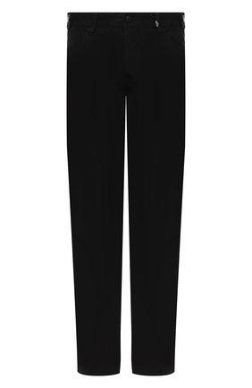 Мужской хлопковые брюки genuine motorclothes HARLEY-DAVIDSON черного цвета, арт. 96400-16VM   Фото 1