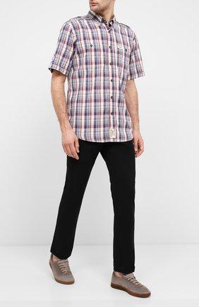 Мужской хлопковые брюки genuine motorclothes HARLEY-DAVIDSON черного цвета, арт. 96400-16VM   Фото 2