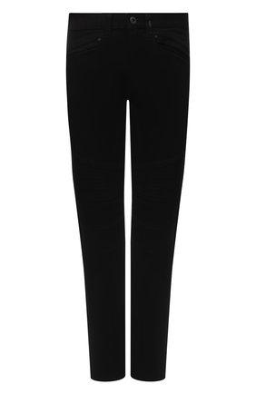 Мужские джинсы black label HARLEY-DAVIDSON черного цвета, арт. 96045-15VM | Фото 1