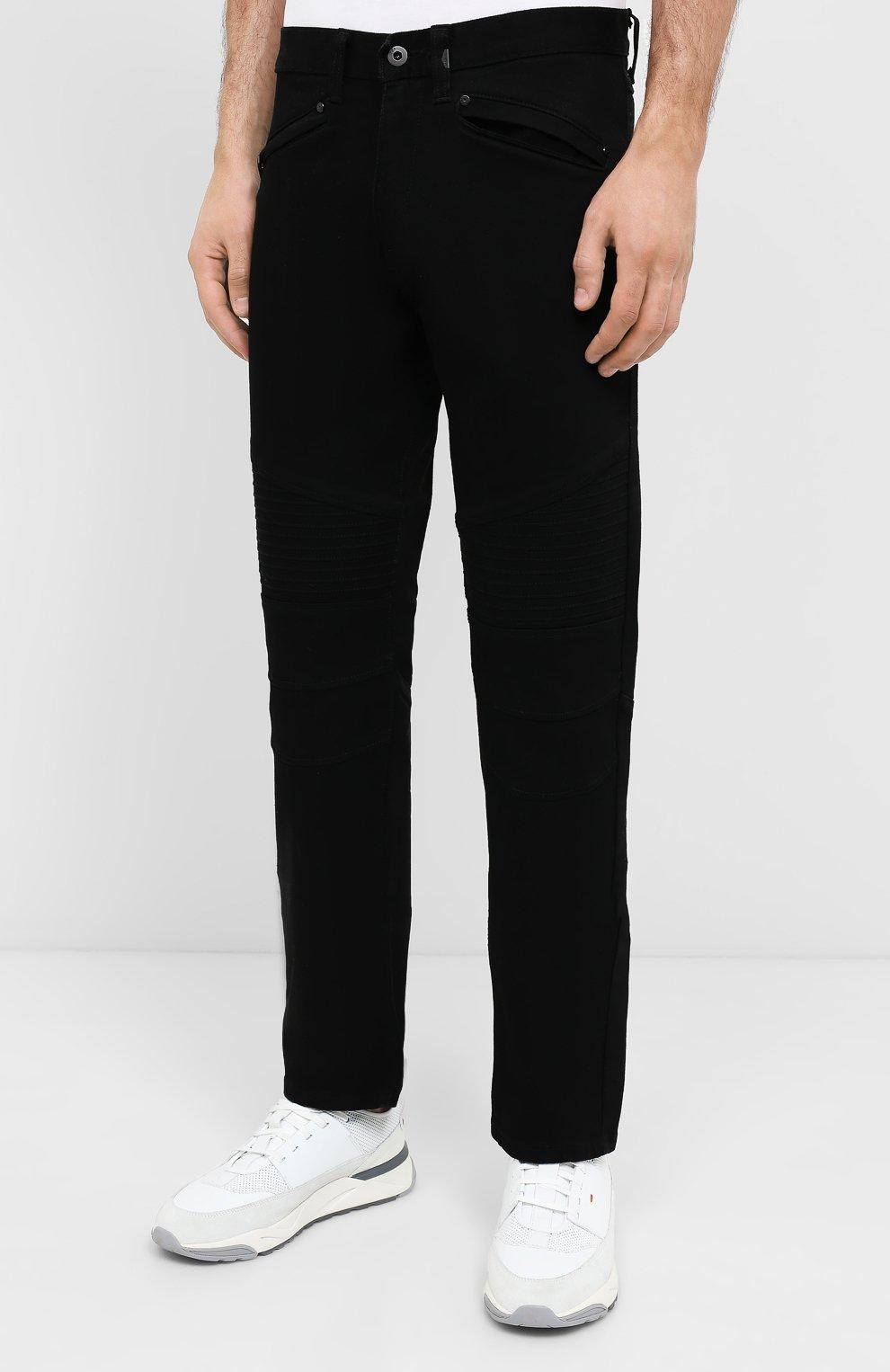 Мужские джинсы black label HARLEY-DAVIDSON черного цвета, арт. 96045-15VM   Фото 3