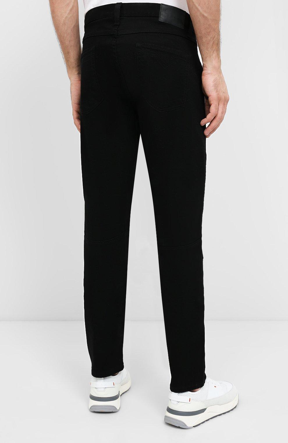 Мужские джинсы black label HARLEY-DAVIDSON черного цвета, арт. 96045-15VM   Фото 4
