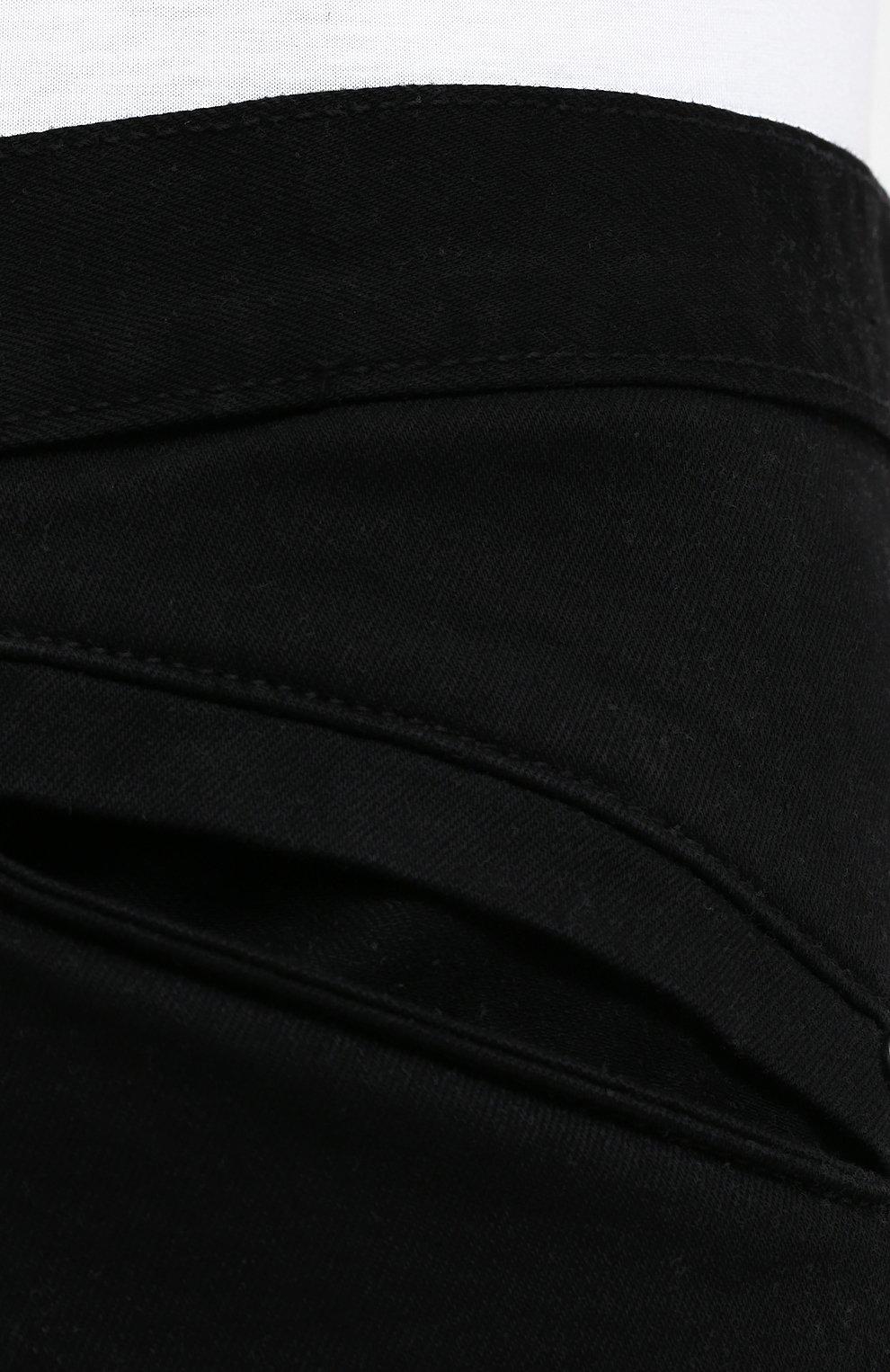 Мужские джинсы black label HARLEY-DAVIDSON черного цвета, арт. 96045-15VM   Фото 5