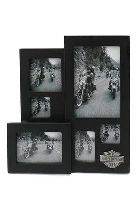 Мужского фоторамка HARLEY-DAVIDSON черного цвета, арт. 96830-15V | Фото 1