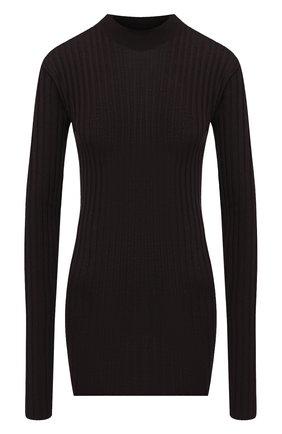 Женская шерстяной пуловер BOTTEGA VENETA коричневого цвета, арт. 631301/VKWG0 | Фото 1