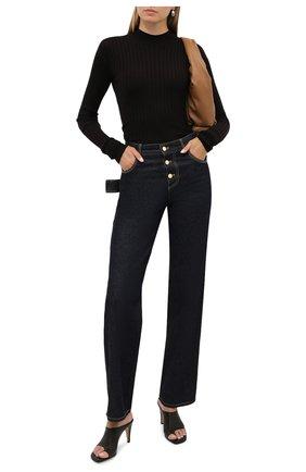 Женская шерстяной пуловер BOTTEGA VENETA коричневого цвета, арт. 631301/VKWG0 | Фото 2
