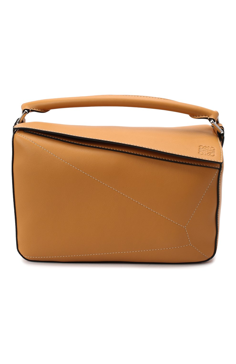 Женская сумка puzzle LOEWE бежевого цвета, арт. 326.77AC41 | Фото 1