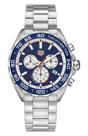 Мужские часы TAG HEUER синего цвета, арт. CAZ1018.BA0842 | Фото 1