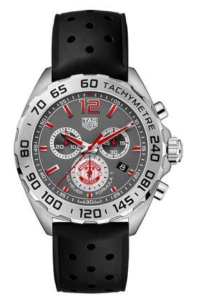 Мужские часы formula 1 TAG HEUER серого цвета, арт. CAZ101M.FT8024 | Фото 1