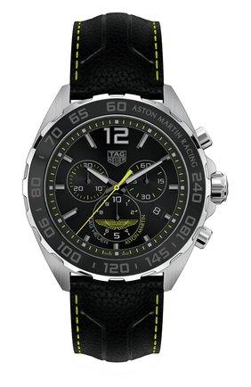 Мужские часы TAG HEUER черного цвета, арт. CAZ101P.FC8245 | Фото 1