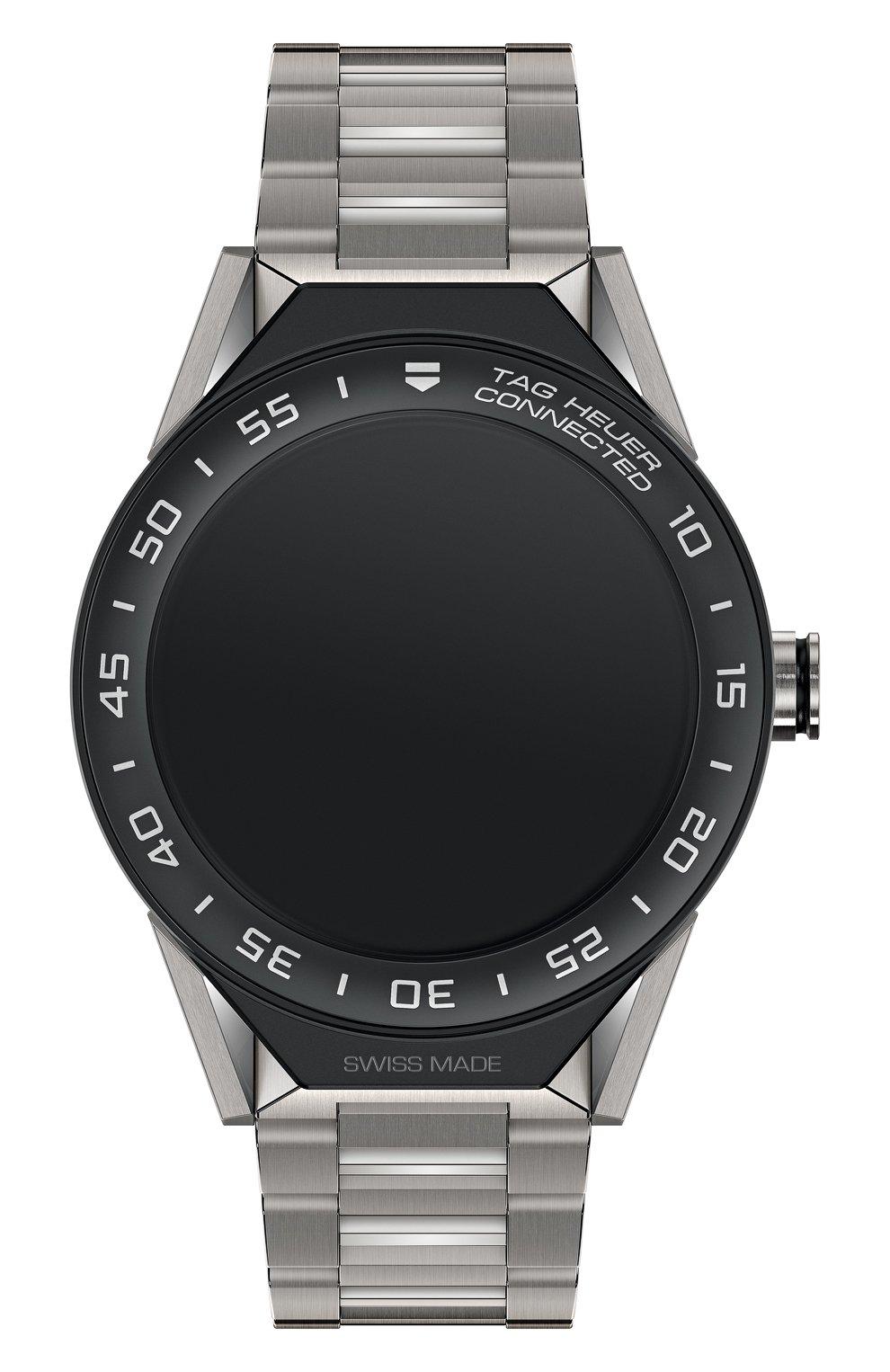 Мужские часы modular TAG HEUER черного цвета, арт. SBF8A8001.10BF0608 | Фото 1