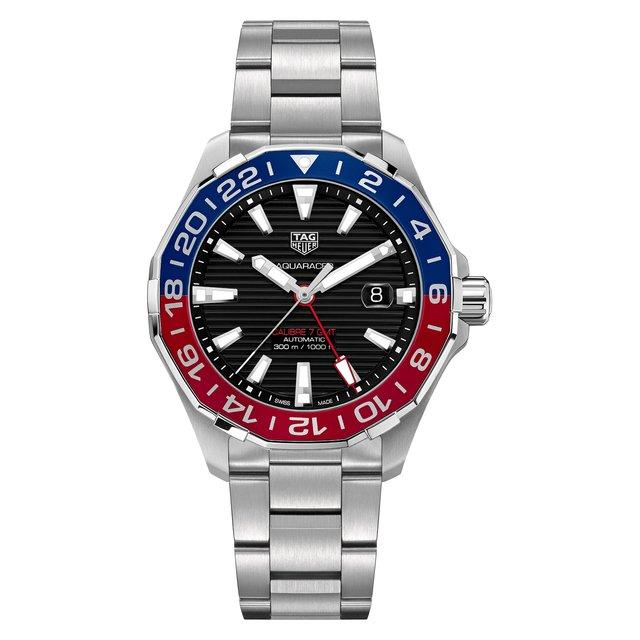 Часы Calibre 7 GMT TAG Heuer.