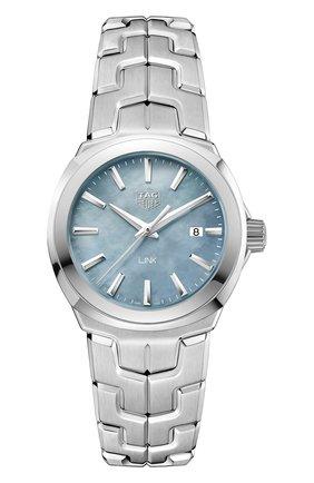Женские часы TAG HEUER серого цвета, арт. WBC1311.BA0600 | Фото 1