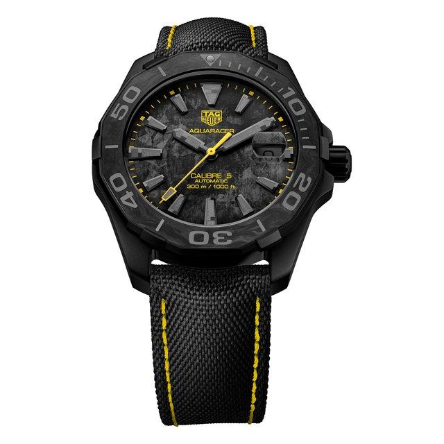 Часы Calibre 5 TAG Heuer.